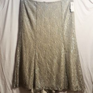 KM Collections by Milla Bell Formal Lace Skirt